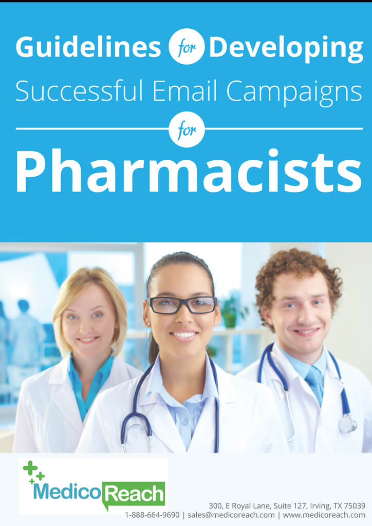 guidelines for developing successful email campaigns for pharmacists - MedicoReach