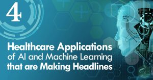 4 Healthcare Applications of AI and Machine Learning that are Making Headlines