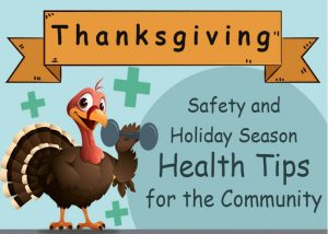 Thanksgiving Safety and Holiday Season Health Tips for the Community - MedicoReach Healthcare Database